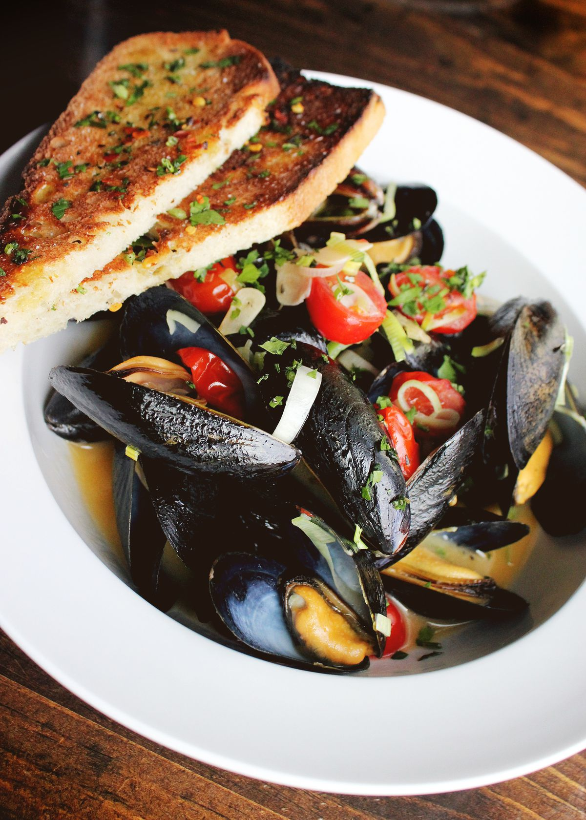 Mussels at City Tap House