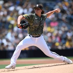 Ryan Weathers, Padres starting pitcher on Saturday