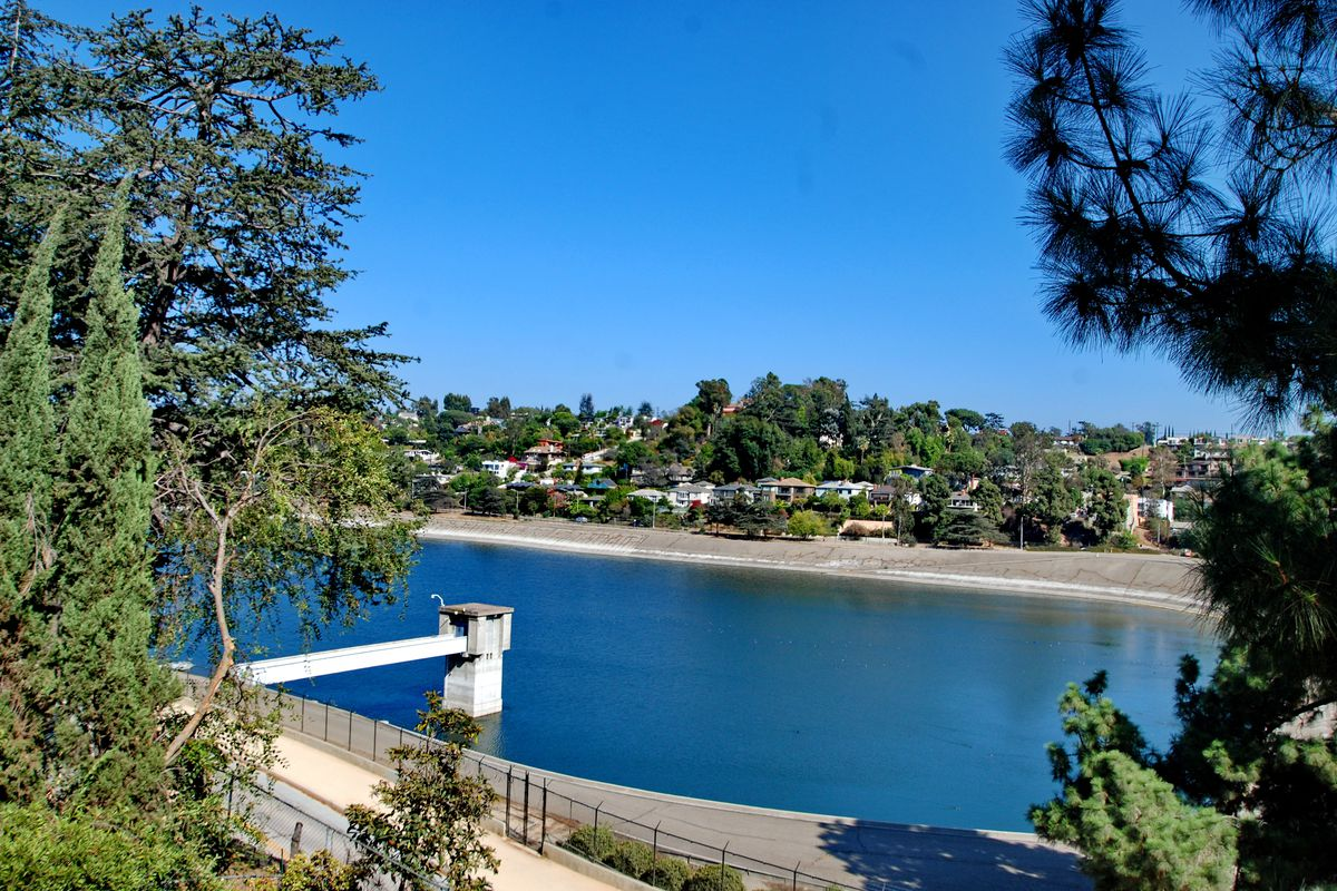 silver lake reservoir will start to refill today curbed la