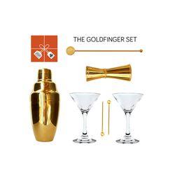 "<strong>Umami Mart</strong>'s The Goldfinger Set, <a href=""http://umamimart.com/collections/gift-sets/products/the-goldfinger-set"">$190</a> at Umami Mart"