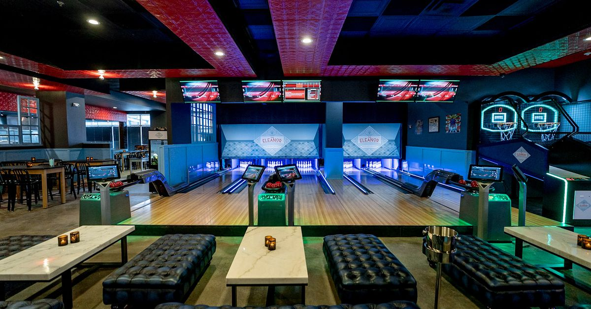 Silver Spring Gets a Huge Arcade Bar With Six Mini Bowling Lanes Next Week