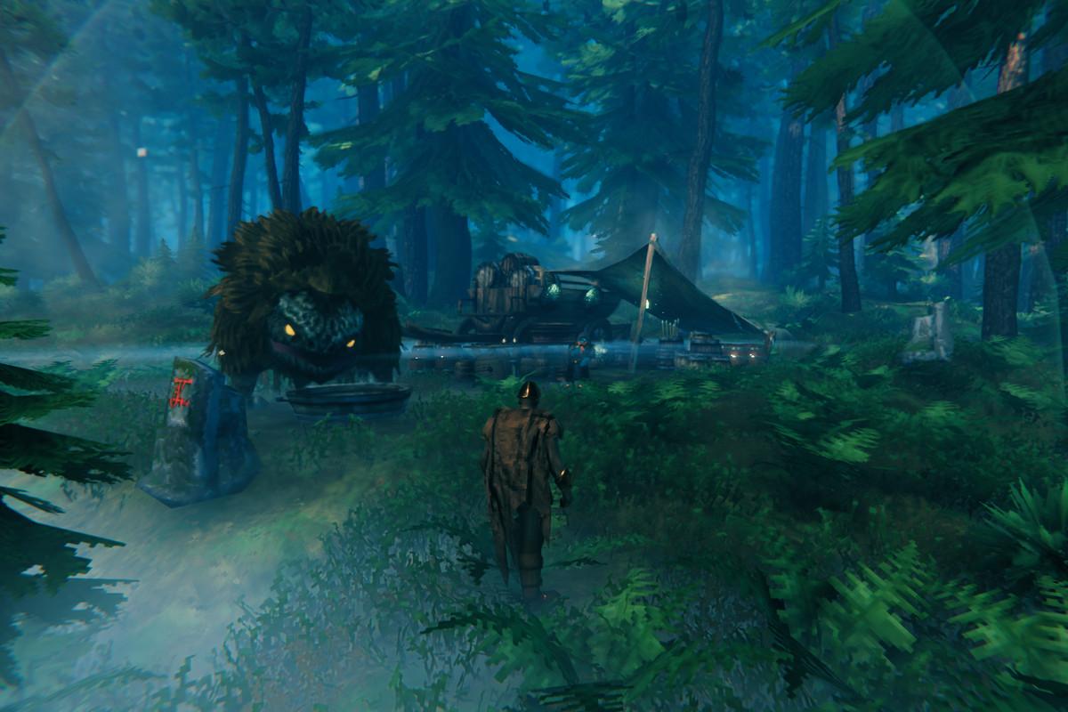 Haldor the Merchant in Valheim