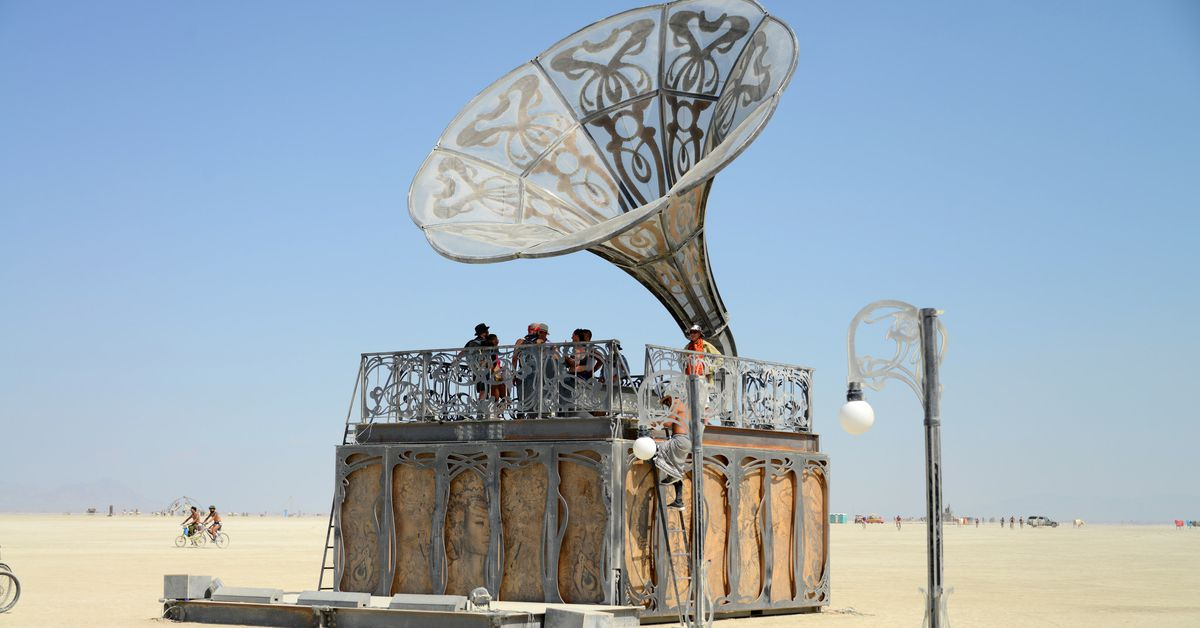 burning man 2018 photos of this year s art and. Black Bedroom Furniture Sets. Home Design Ideas