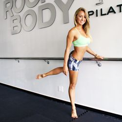 """<a href=""""http://la.racked.com/archives/2014/08/14/hottest_trainer_contestant_8_jacquelyn_umof.php""""><b>Jacquelyn Umof</b></a> of RockIt Body Pilates"""