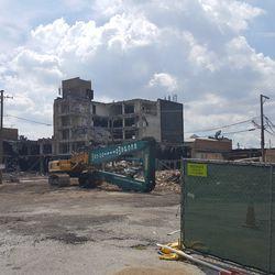 More demolition on Addison -