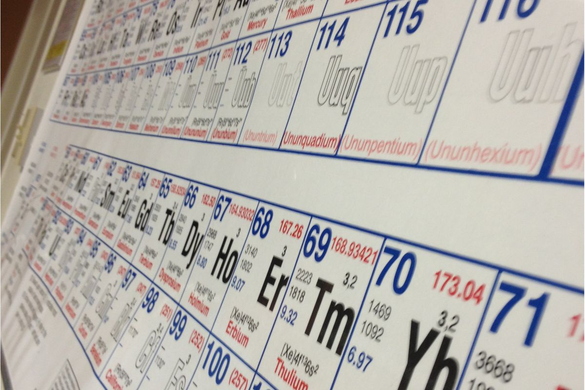 Four New Elements Have Been Added To The Periodic Table The Verge