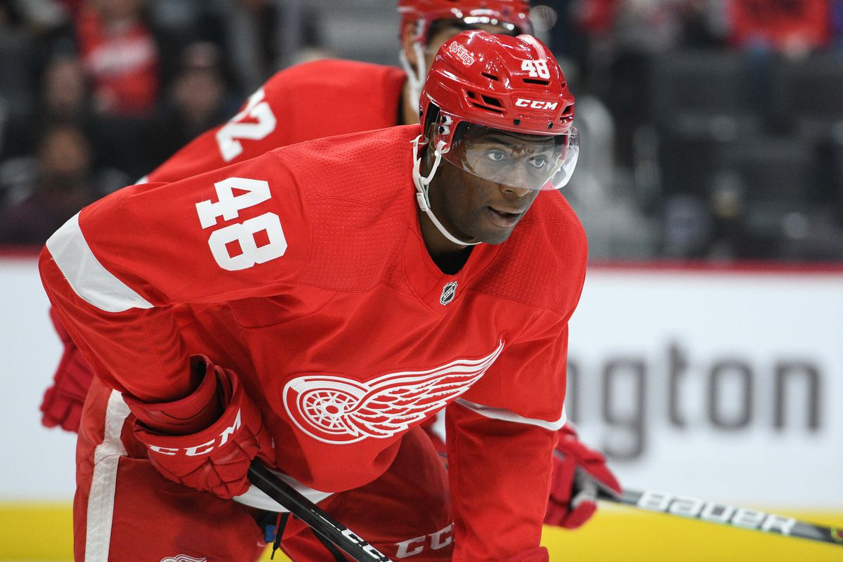 Red Wings recall Givani Smith from Grand Rapids
