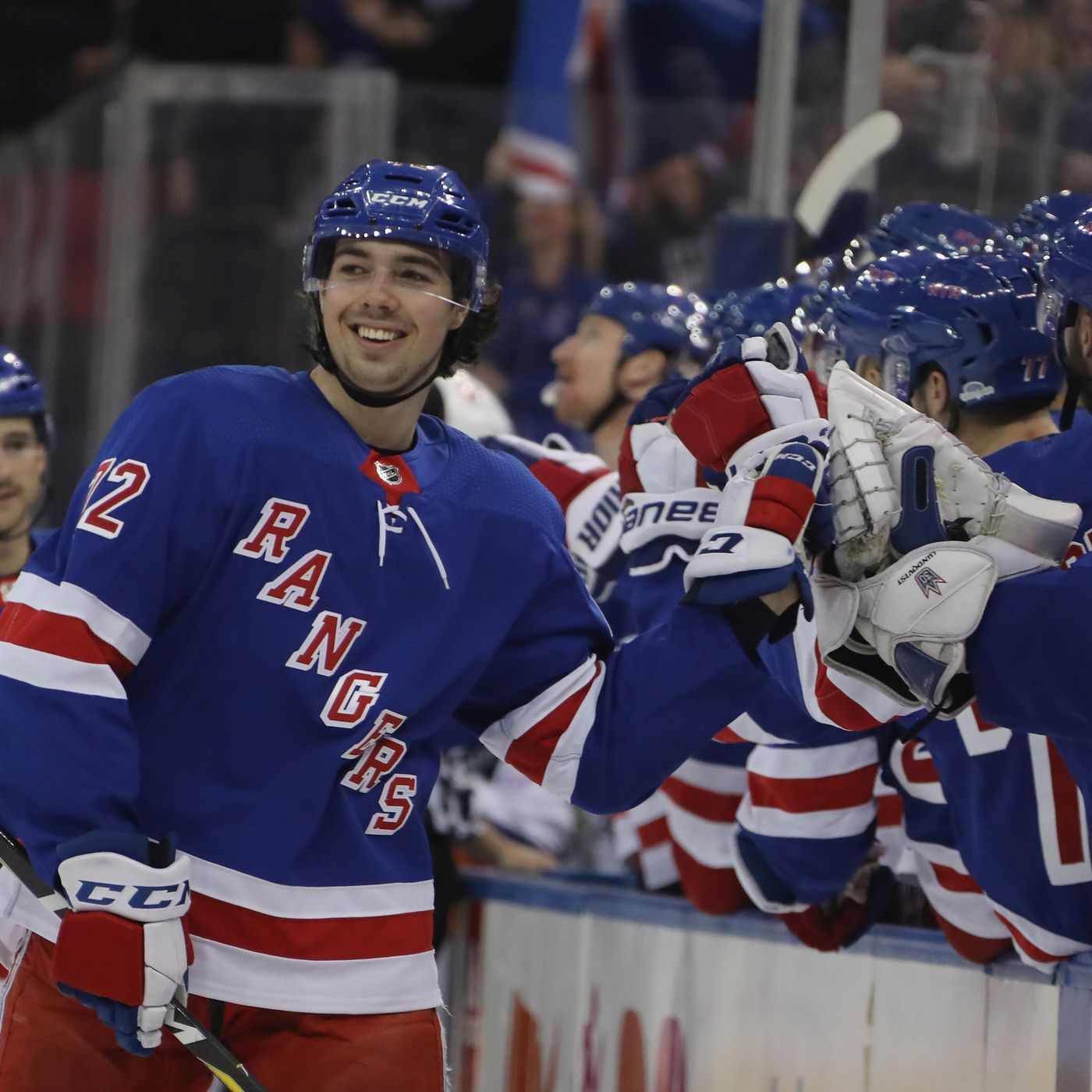 Rangers vs. Islanders  Chytil Extends Goal Streak to Five Games ... 22b52ca0d484