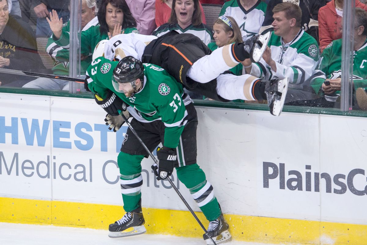 For all of their disparate skills, the one thing the Dallas Stars' defense absolutely cannot do, under any circumstances, is be right-handed.