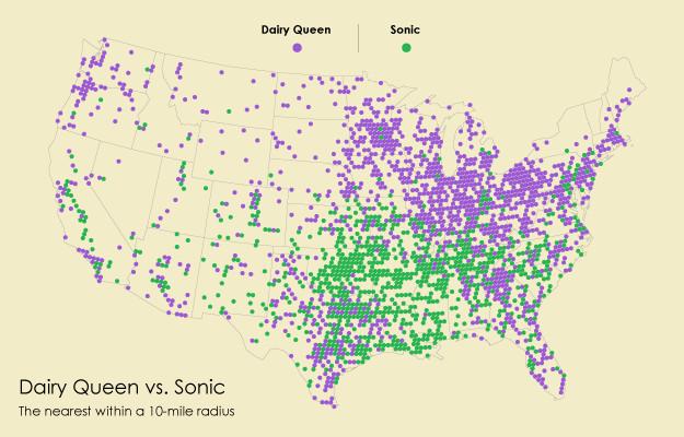 sonic versus dairy queen