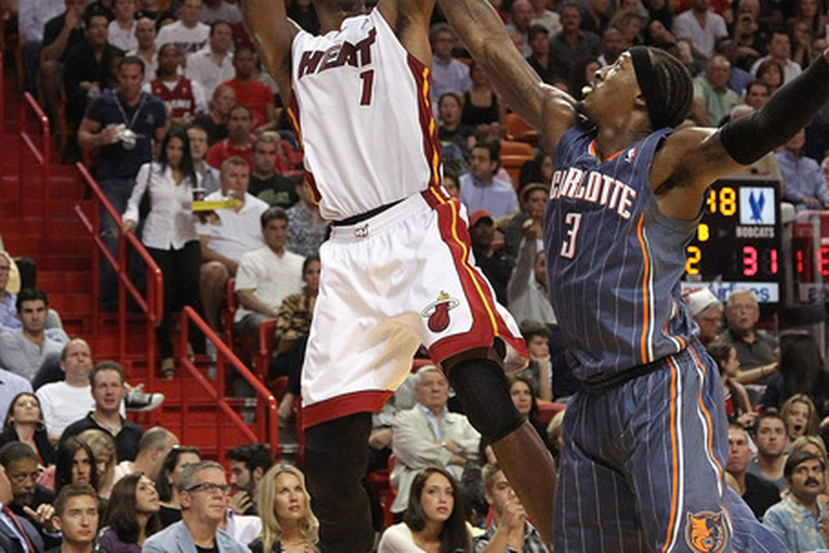 Another solid game for Mr. Bosh