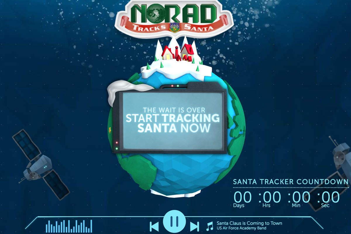 The technologies NORAD is 'using' to track Santa Claus today ... on track santa now map, santa fa on a usa map, snow tracker map, easter bunny tracker map, santa is real, bubble map, santa that tracks santatraker, santa county map, santa flying over a map, santa on crack, santa norad finder, santa tracker christmas eve, santa tracer com, santa map progress, google earth santa tracker map, santa movies, santa games, north pole map,