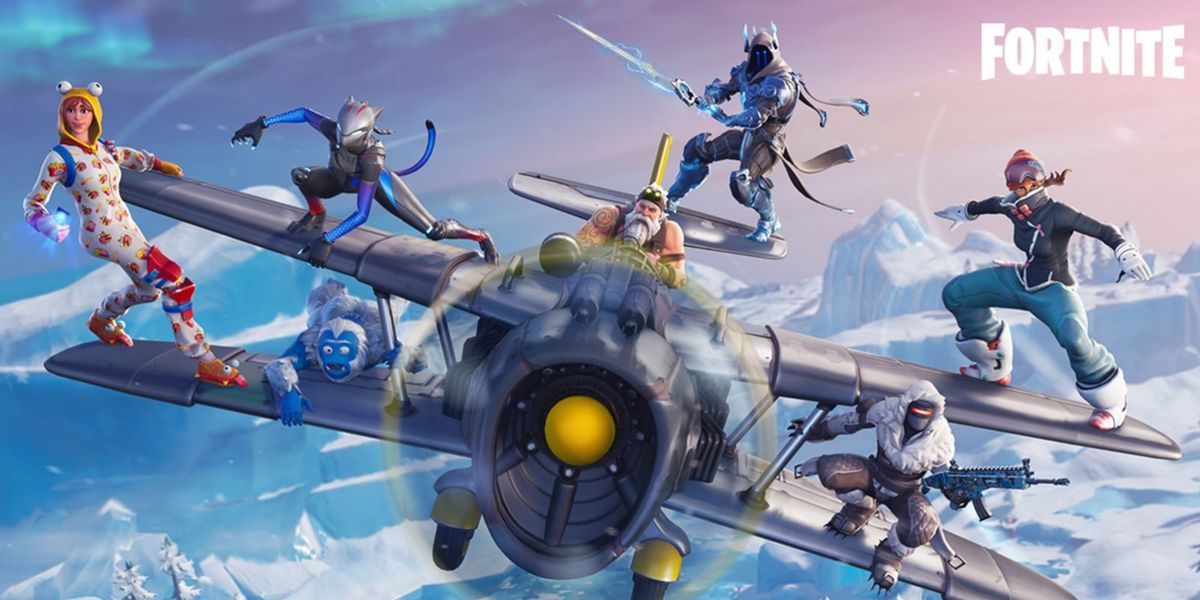Fortnite season 7 brings ziplines, a plane and new map updates - Polygon