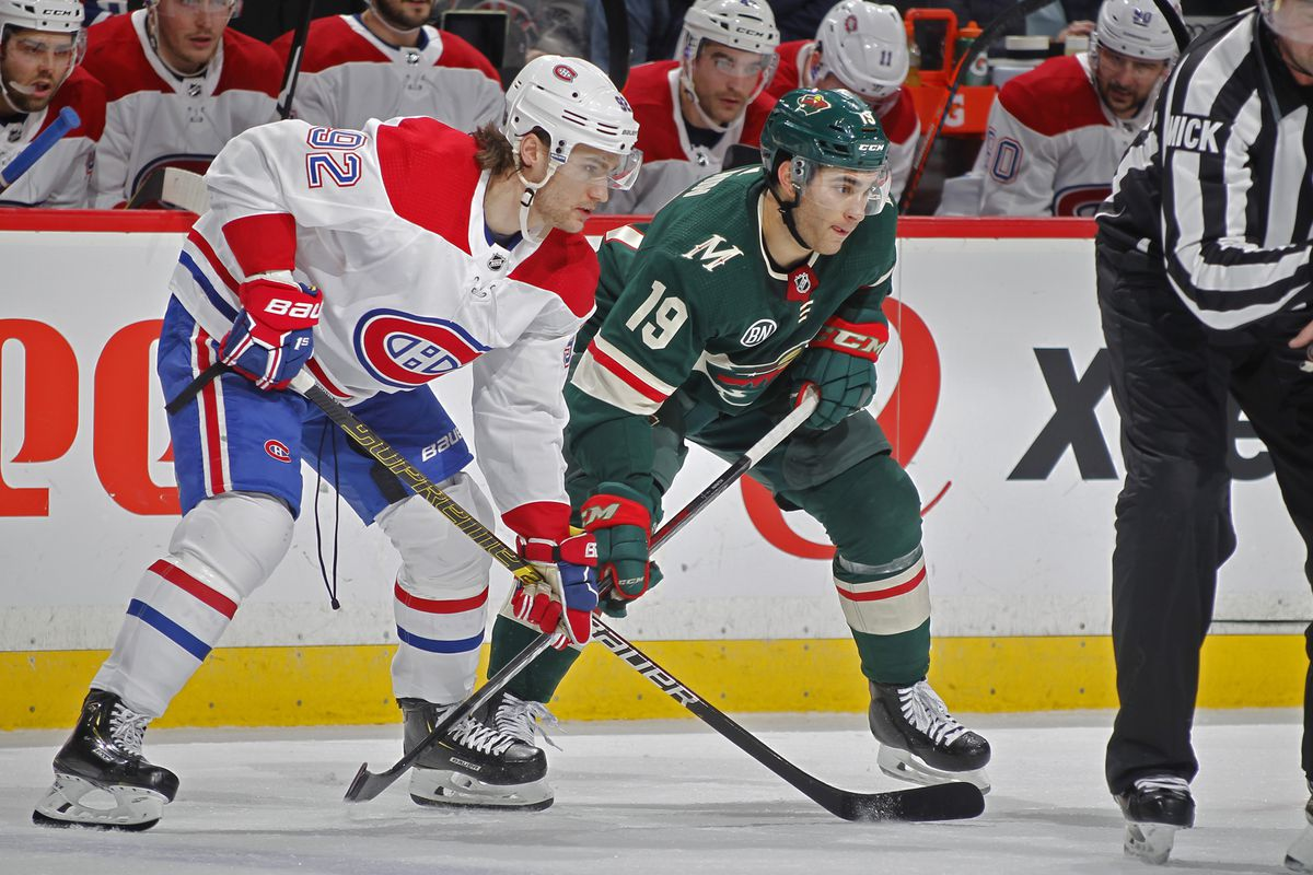 Preview: Wild taking on Canadiens to begin brief homestand