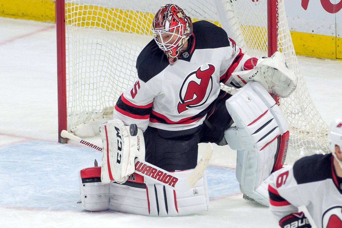 Just one of the 36 saves Cory Schneider made tonight.