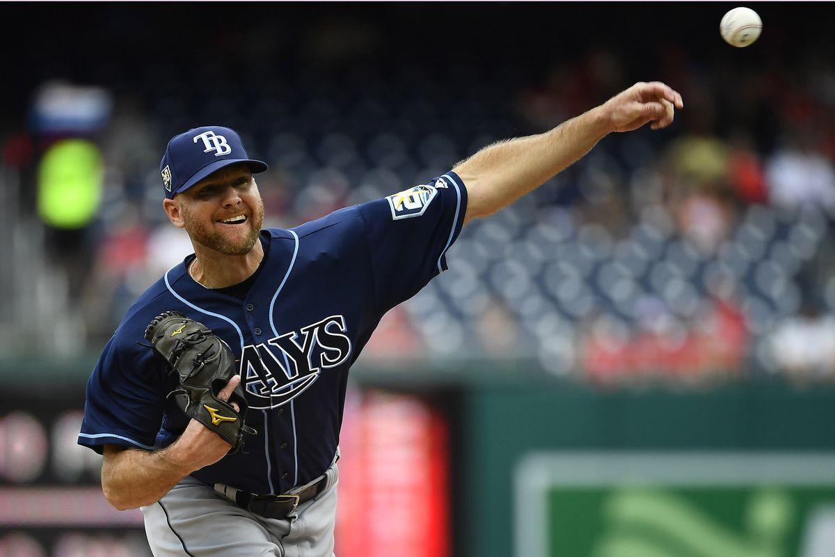 MLB: Tampa Bay Rays at Washington Nationals