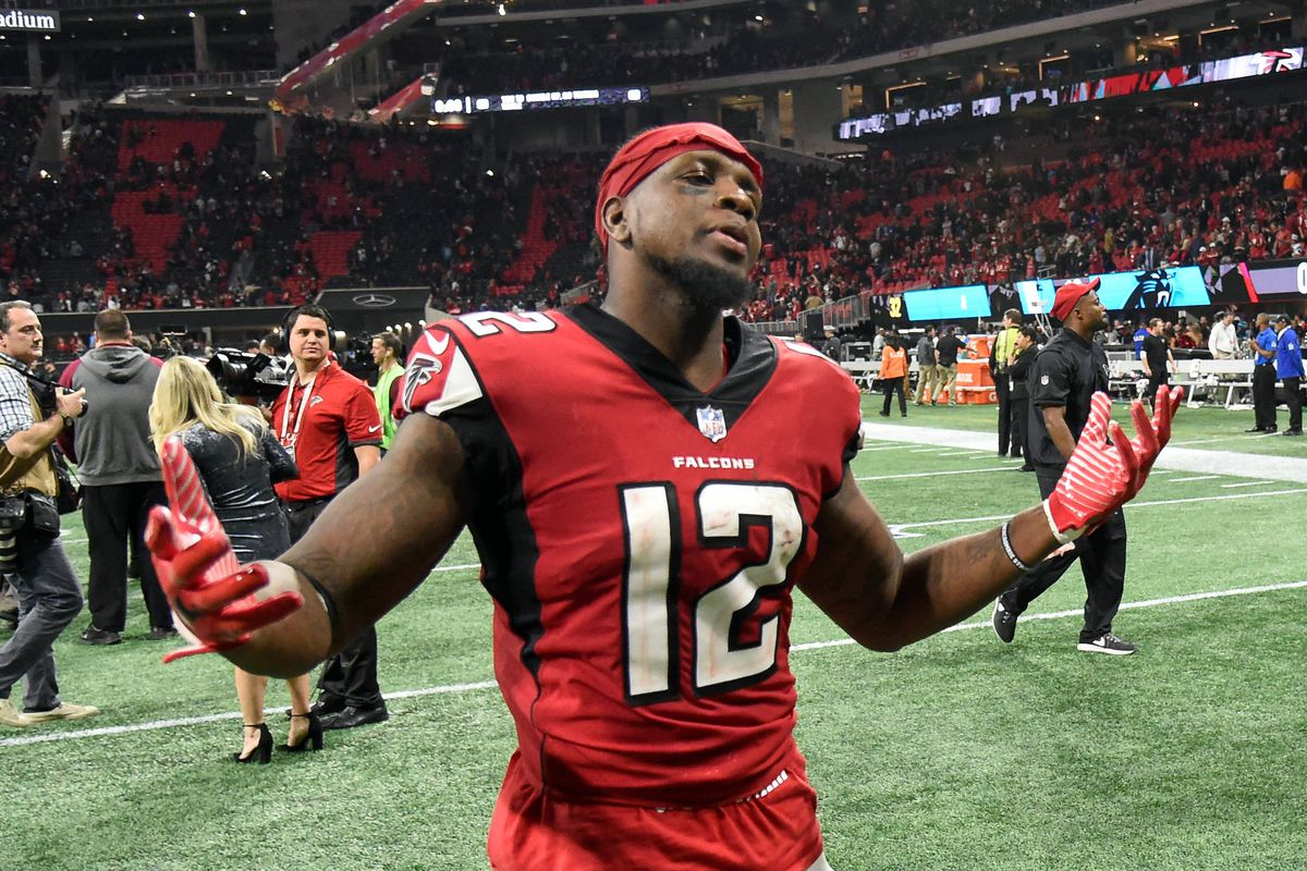 What Falcons Veteran Is Directly Impacted By The Drafting Of Calvin Ridley The Falcoholic