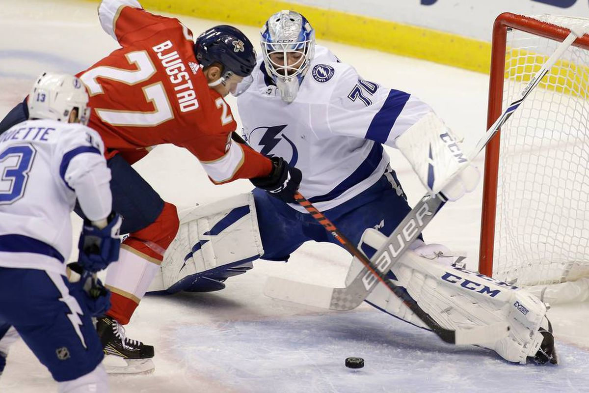 Tampa Bay Lightning At Florida Panthers Preview Louis Domingue Goes