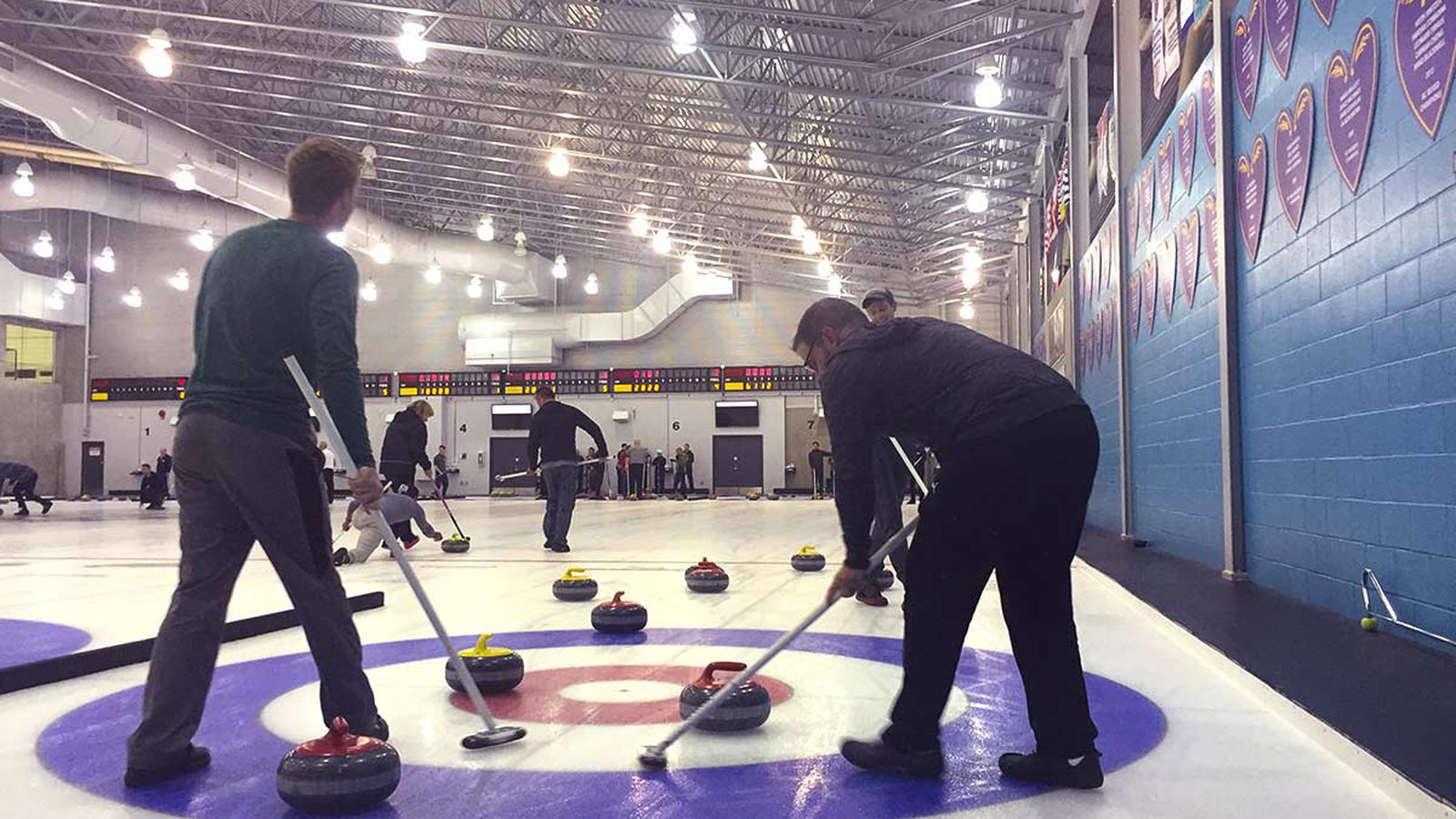 from Cruz gay curling