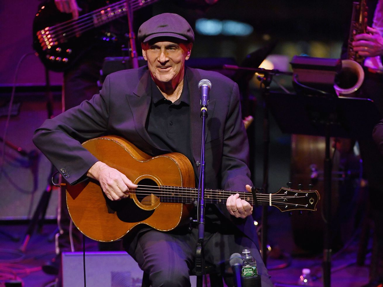 James Taylor performs at Jazz at Lincoln Center in 2019 in New York City.