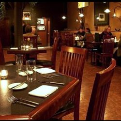 <strong>Hugo's,</strong> Old Port. The dark, spare, clean-lined space, punctuated with wrought iron sculptural elements, serves as neutral backdrop for the headline act - the award-winning food that played a large part in putting Portland's reputation as