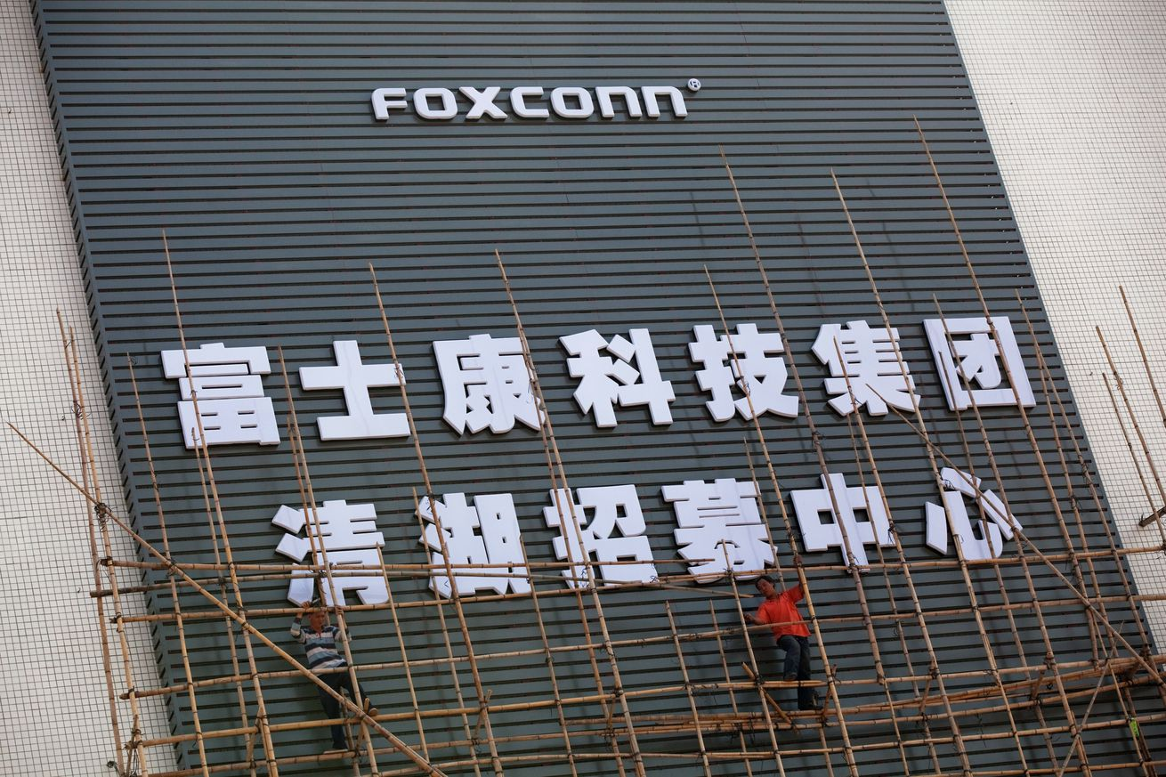foxconn reportedly employed students to work overtime illegally to assemble the iphone x