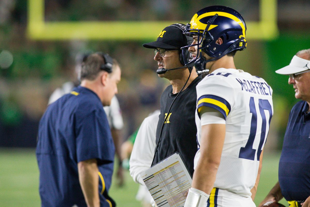 Why a change probably isn't coming to Michigan's QB situation