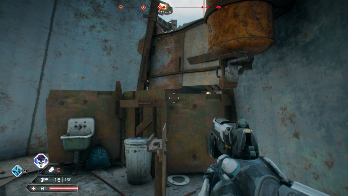 A toilet in Rage 2
