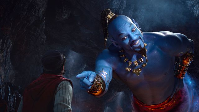 aladdin remake will smith's blue genie
