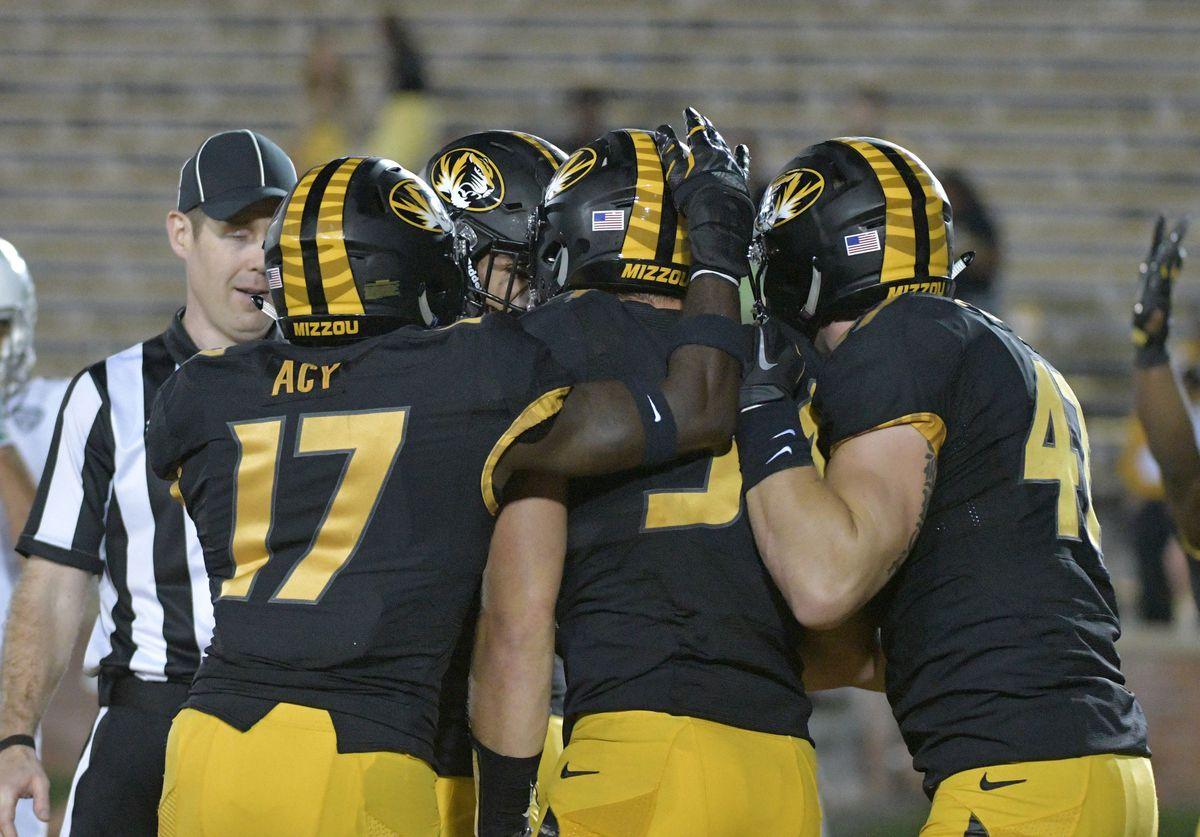 NCAA Football: Eastern Michigan at Missouri