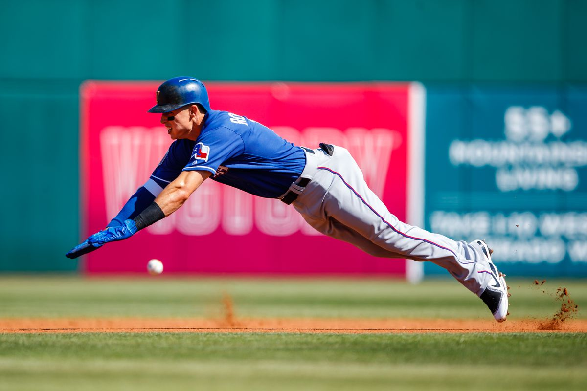 MLB: Spring Training-Texas Rangers at Cleveland Indians