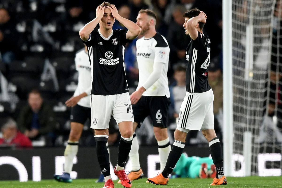Derby County v Fulham - Sky Bet Championship Play Off Semi Final:First Leg