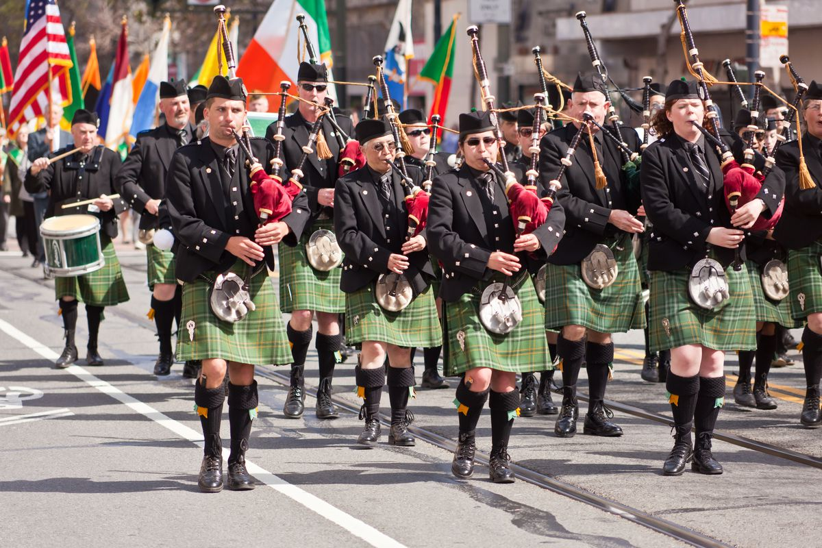St. Patrick's Day Parade San Francisco