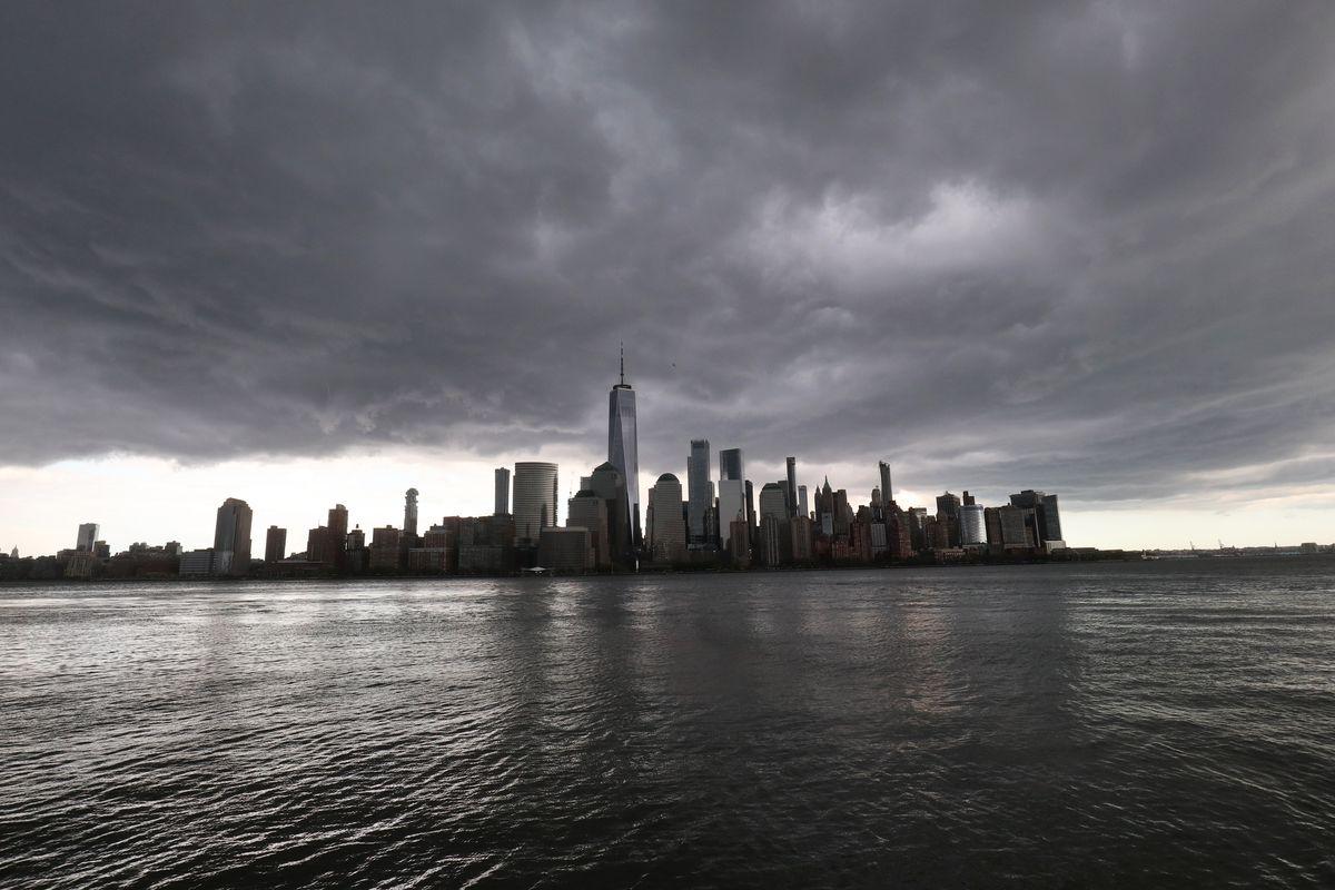 Rain Storm in New York City