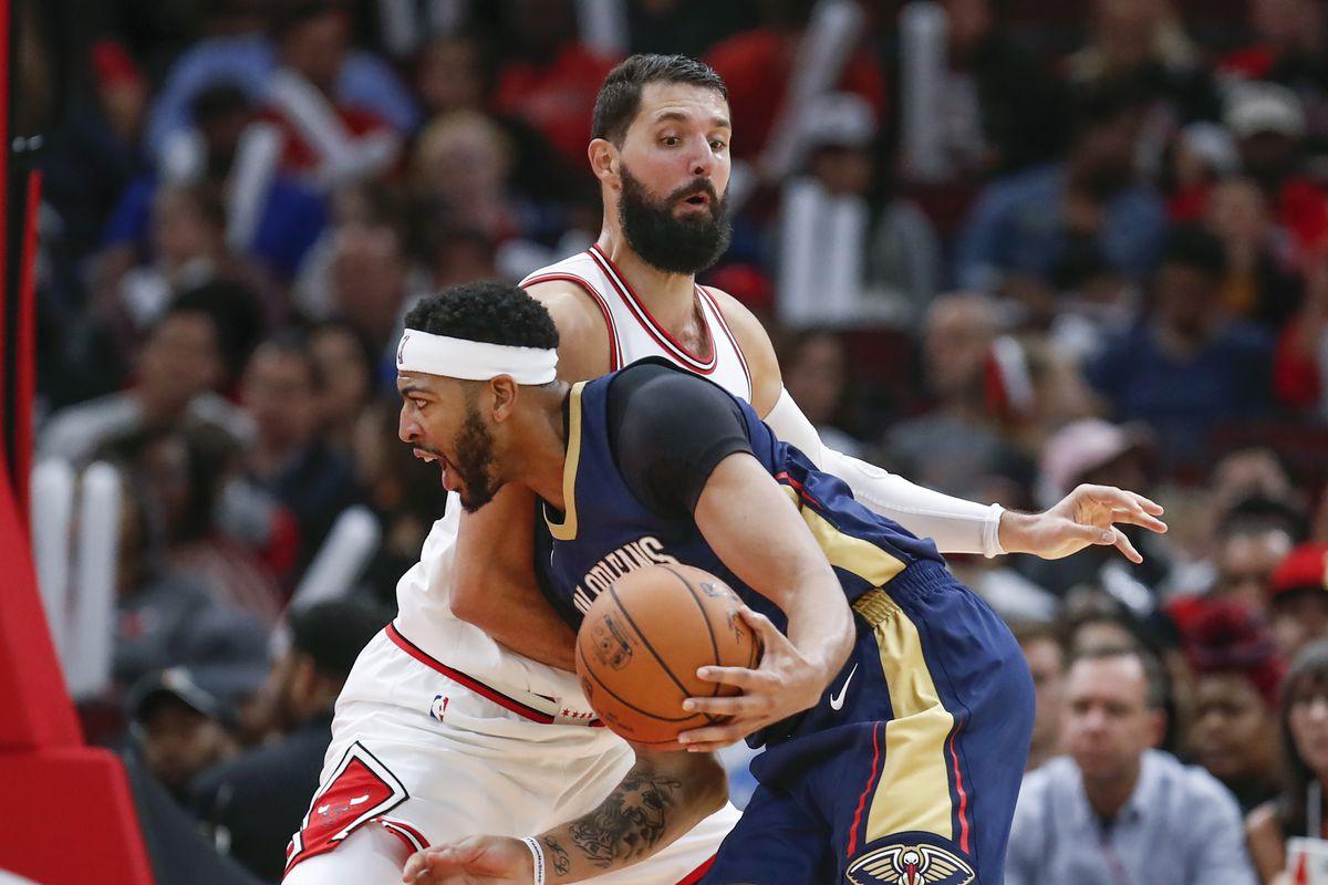 NBA: Preseason-New Orleans Pelicans at Chicago Bulls
