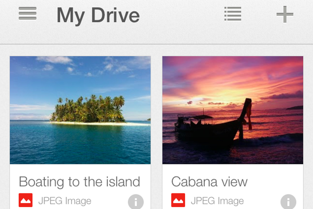 Google Drive for iOS adds support for multiple accounts, single sign