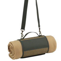 """Eco Harness & Fleece Blanket, <a href=""""http://www.brookstone.com/eco-harness-fleece-blanket"""">$25.50</a> at Brookstone"""