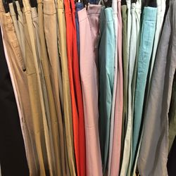 Chinos and cords, $25
