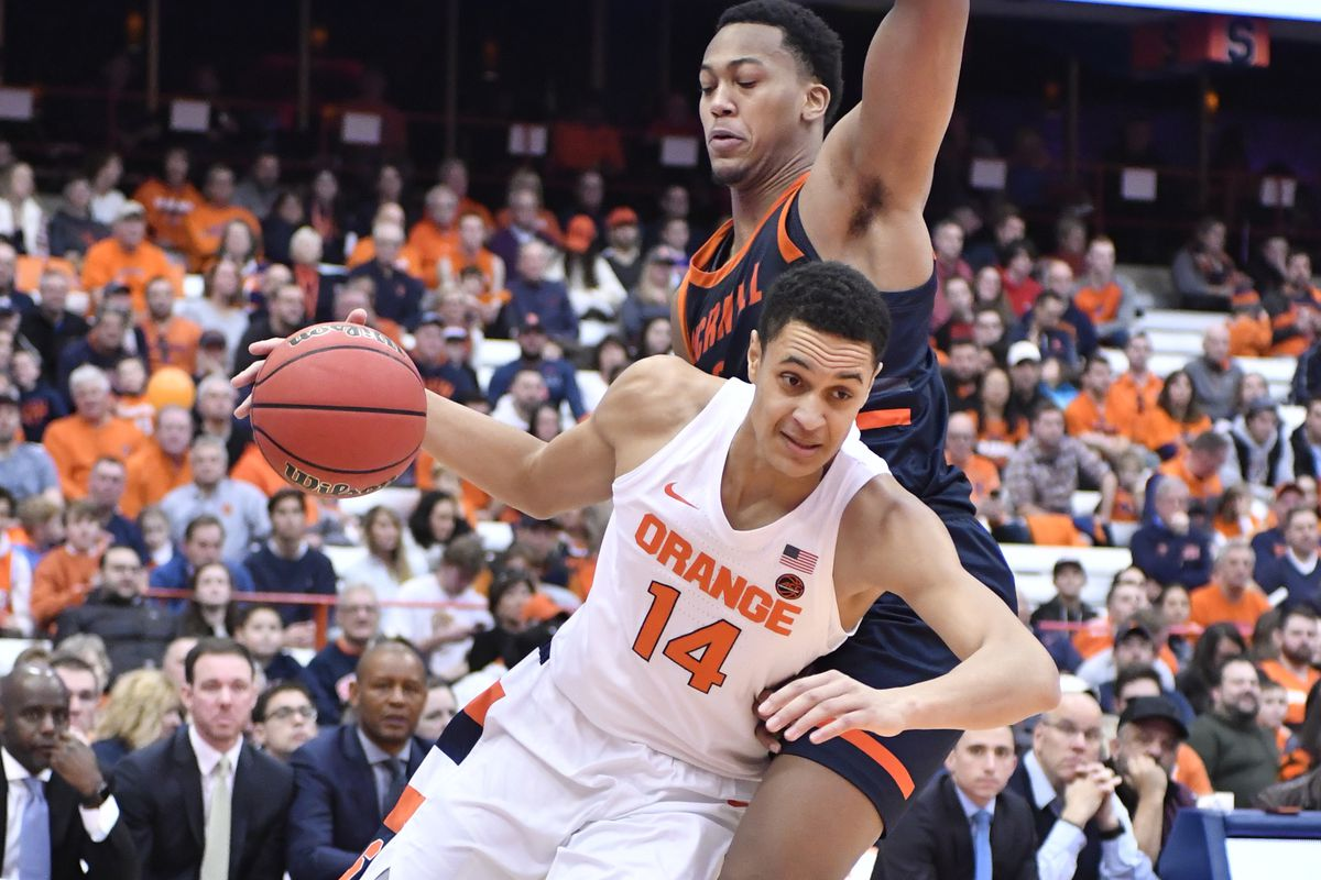 NCAA Basketball: Bucknell at Syracuse