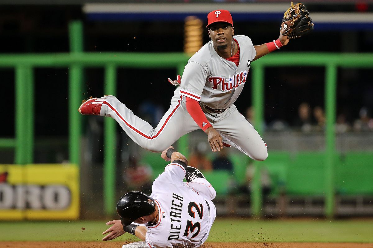 The graceful Darnell Sweeney is one of a handful of prospective second basemen in the Phillies' system