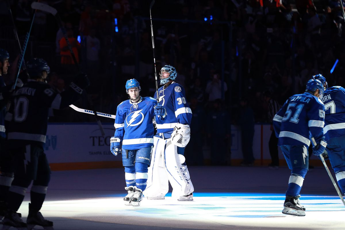 Tyler Johnson and Ben Bishop are having a great post season so far for the Bolts