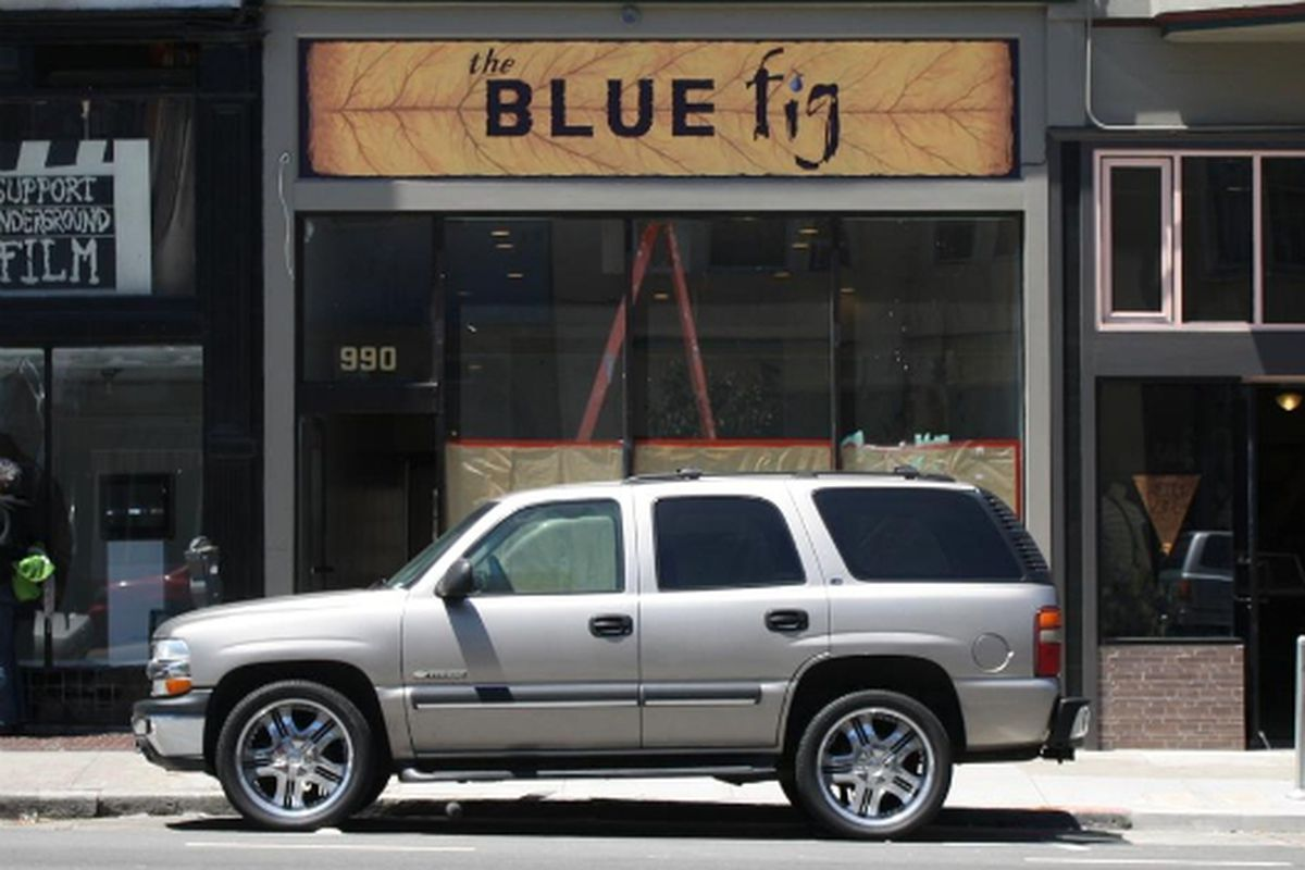 The Blue Fig.