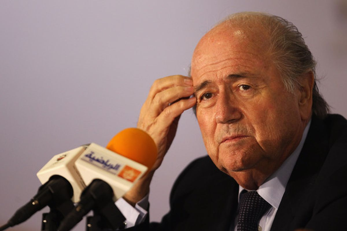 Riddle me this, Sepp.