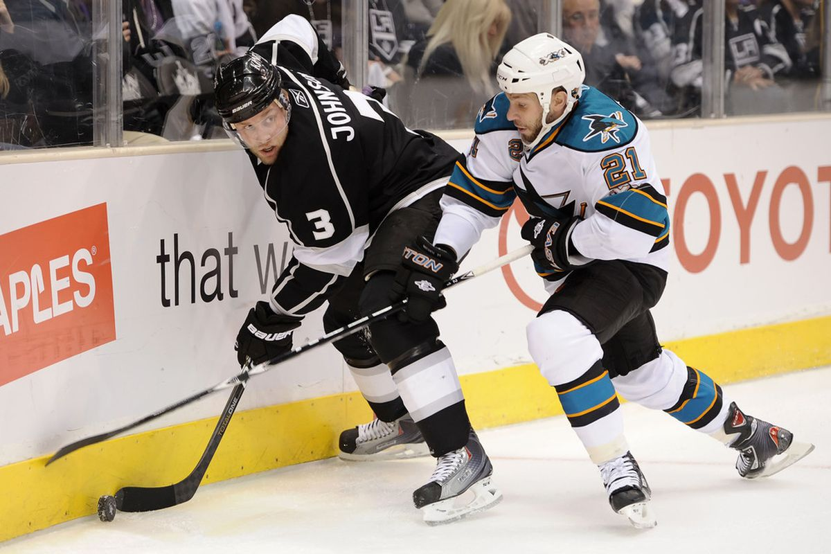 <em>A scrappy fourth-liner, Nichol's faceoff prowess and penalty kill ability made him an integral part of the Sharks fourth line over the last two seasons.</em>