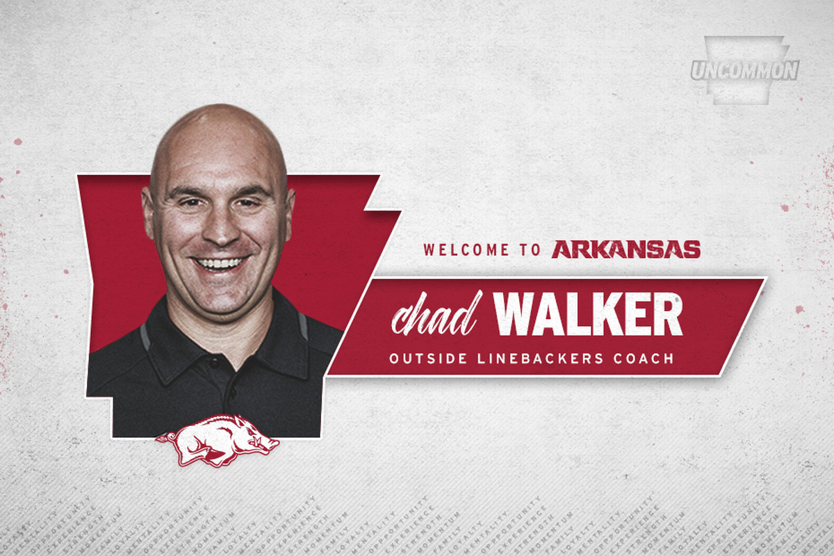 Chad Walker named outside linebackers coach at Arkansas