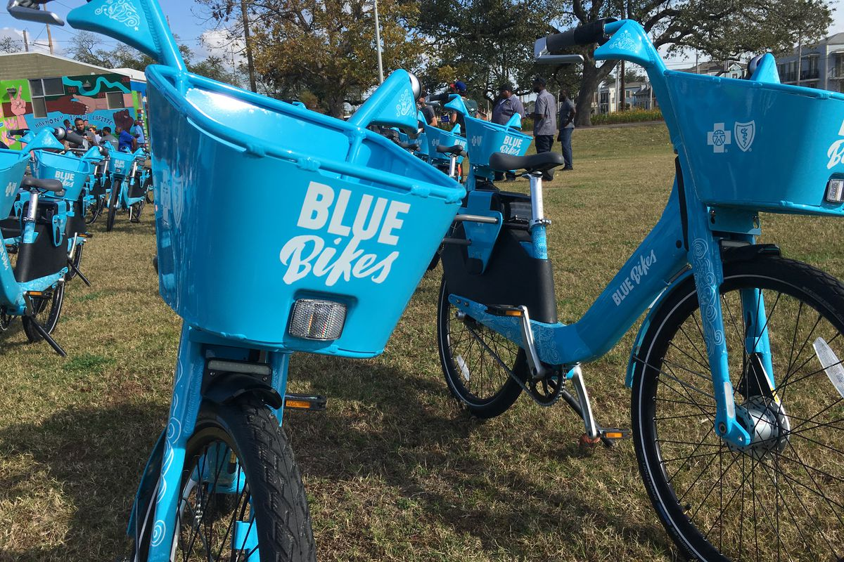 new orleans s new bike share program blue bikes pricing. Black Bedroom Furniture Sets. Home Design Ideas