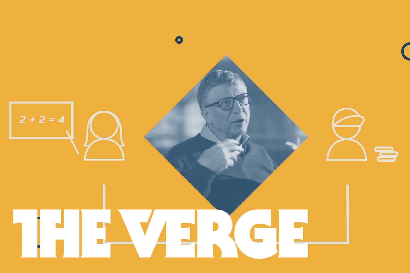 Bill Gates on The Verge: Can online classrooms help the