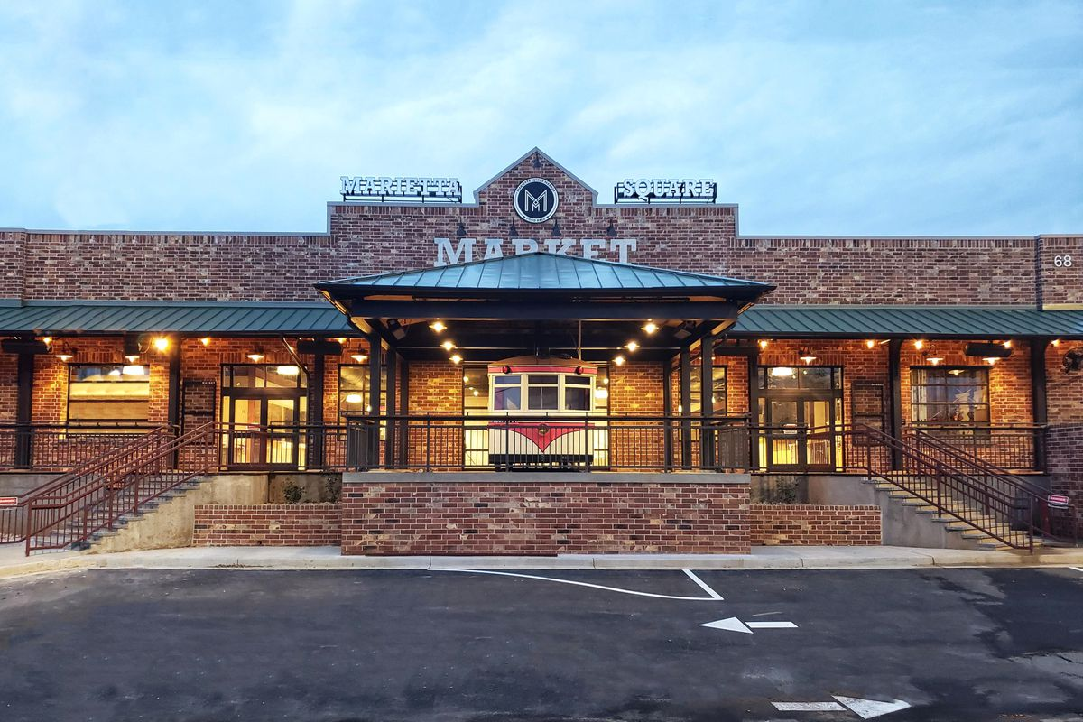Marietta Square Market And Food Hall Opens In March In