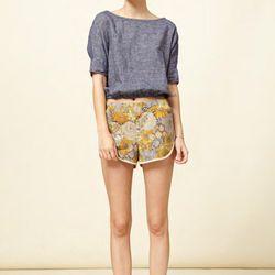 Atelier Delphine Track Shorts, $85