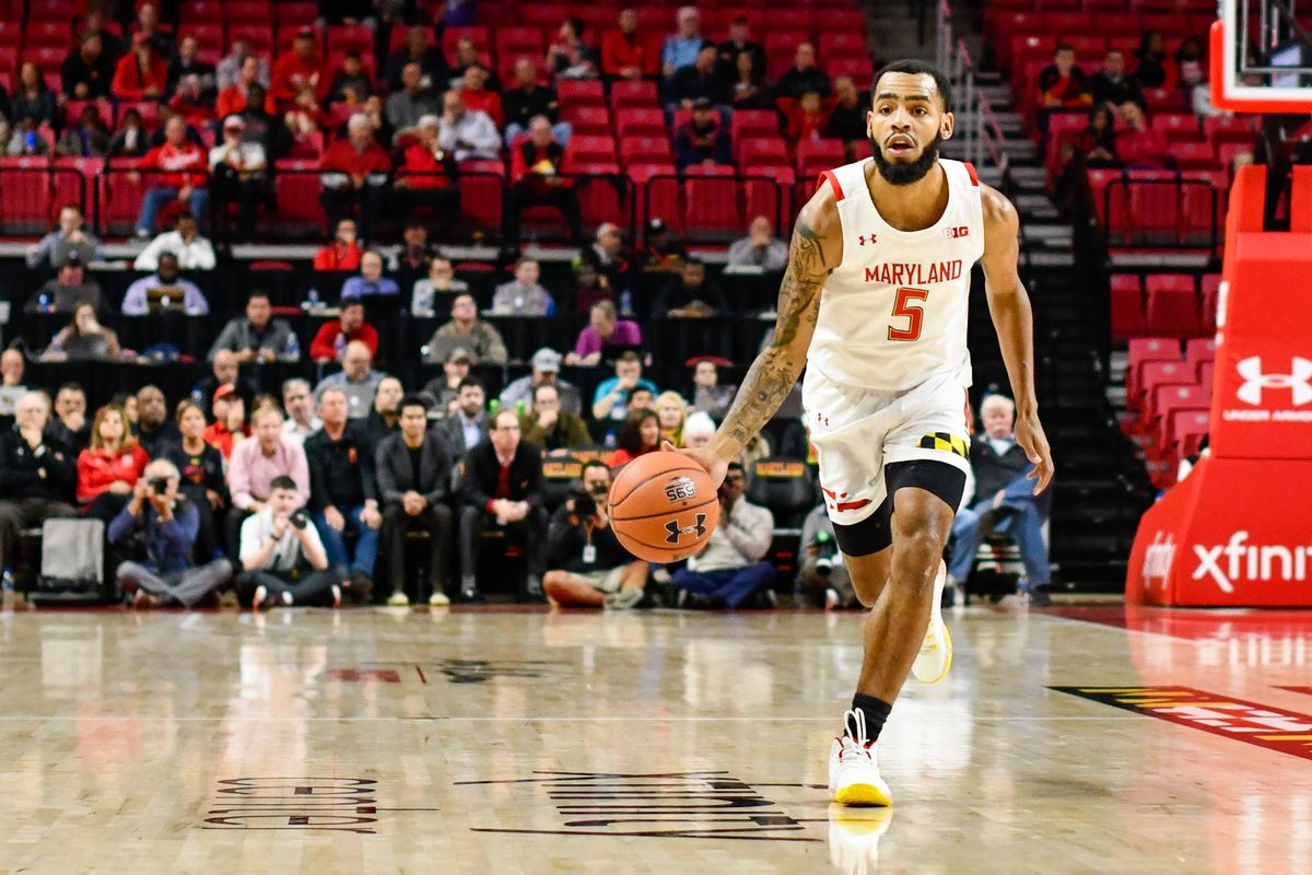 Eric Ayala vs Holy Cross Maryland basketball 2019-20